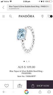 Blue gem Pandora ring Drewvale Brisbane South West Preview
