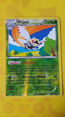 Pokemon XY Roaring skies 2x Ninjask 10//108 Uncommon NM