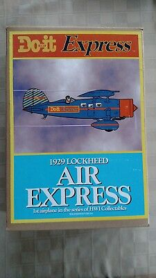 Do It Best HWI 1929 Lockheed Air Express Die Cast Airplane Bank 1st in Series