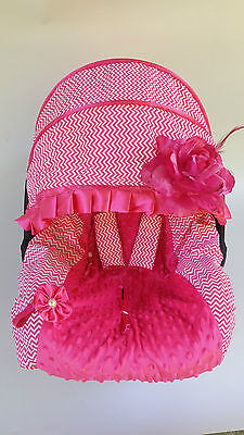 New adorable infant car seat cover canopy cover fit most seat hot-pint