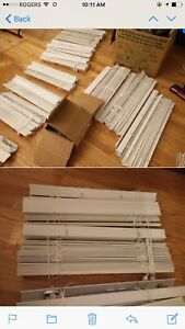 """White faux blinds 2"""""""