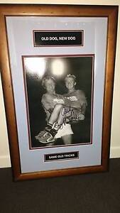 NRL memorabilia - Tommy Raudonikis/Alfie Langer framed photo Fletcher Newcastle Area Preview