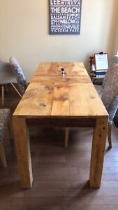 Harvest Dining Table and Bench
