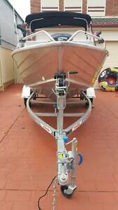 2016 Model Stacer Rampage 429, 30 Hp Yamaha Fishing Boat Trailer