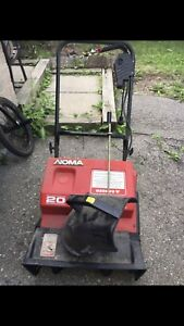 Noma Electric snowblower good working condition