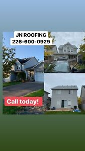 JN ROOFING-REPAIR & SNOW REMOVAL *226-600-0929*