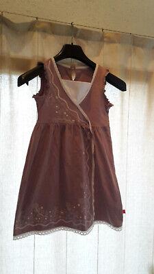 lila Kleid für Mädchen, Schuleintritt, Schuleintrittskleid von CFL - Gr. 122/128 ()