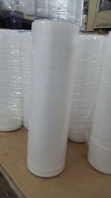18 X 1500 X 60 Gauge Stretch Shrink Wrap 1 Roll Hand Plastic Wrapping Pallet