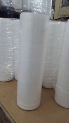 18 X 1500 X 80 Gauge Stretch Shrink Wrap 1 Roll Hand Plastic Wrapping Pallet