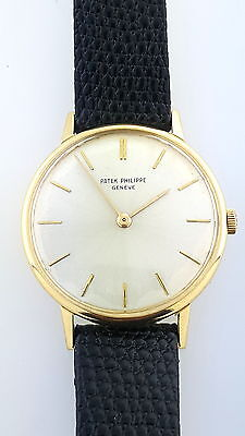 $4199.99 - Vintage 1960s 18k yellow Gold Patek Philippe 2592 Calatrava Manual  Watch