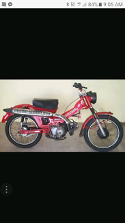 Wanted: Wanted!!! Please Share!!! Parts For A Postie Bike CT110
