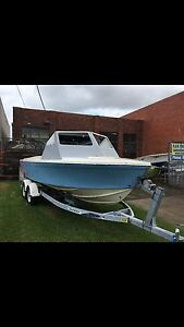 Haines hunter v19r half finished project boat Hallam Casey Area Preview