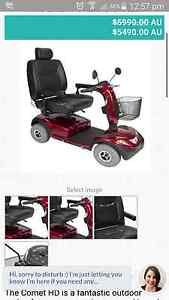 Comet Heavy duty Mobility Scooter Boambee Coffs Harbour City Preview