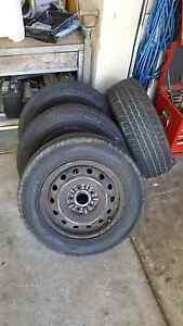 4x Bridgestone RE92 205/65/R15 94H + 4x Steel Rims Springvale Greater Dandenong Preview