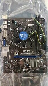 Msi motherboard and cpu as is Camillo Armadale Area Preview