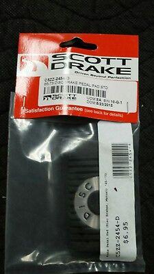 NEW 65-73 disc brake pedal pad standard mustang Brake Pedal Pad Standard