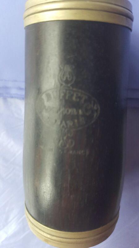 Vintage Buffet Crampon Wood Clarinet Barrel 66 mm