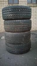 Set of four rims and three Ingleburn Campbelltown Area Preview