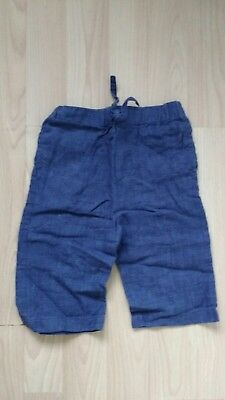 Boys Navy Linen Trousers (monsoon boys navy linen trousers Age 3 to 6)