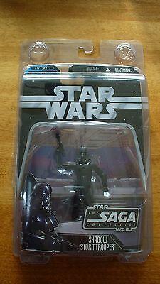Star Wars Saga Collection - Black Imperial Shadow Stormtrooper - Hasbro - New