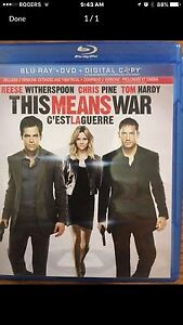 This Means War Blue Ray London Ontario image 1