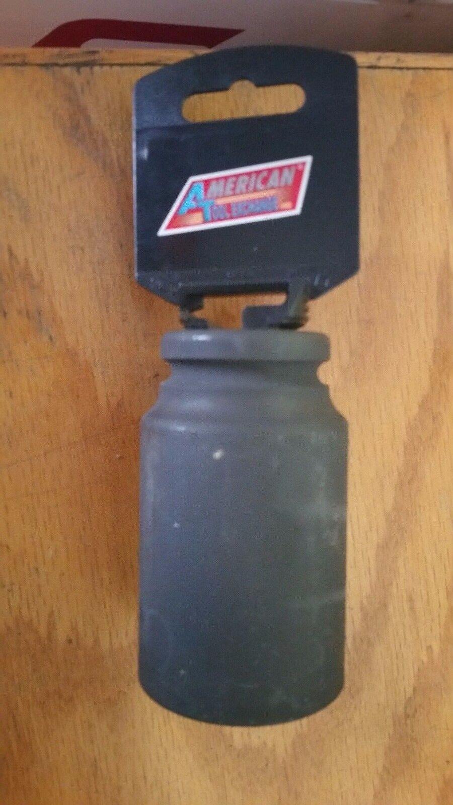 "ATE Tools 3/4' Dr X 1-1/2"" Deep Air Impact Industrial Sockets SAE Standard"
