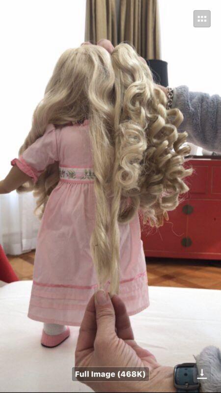 American Girl Doll Caroline wig new no box BRAND NEW
