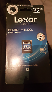 Lexar Platinum 32g memory cards brand new Kwinana Beach Kwinana Area Preview