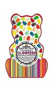 Happy Yummies Worlds Best Tasting Gourmet Gummies Super Bear Assortment