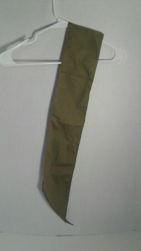 Vintage Boy Scouts of America BSA B.S.A. Merit Badge Sash Patch Green Uniform US