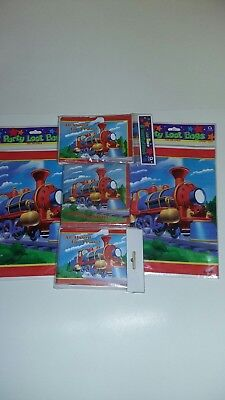 Birthday party supplies for boys all aboard train - Themes For Boy Parties