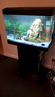 Selling used blue planet 100L Fish Tank with accessories