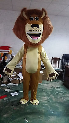 Halloween Lion Mascot Costume Cosplay Fancy Party Game Dress Adults Size Fashion - Fashion Halloween Costumes Games
