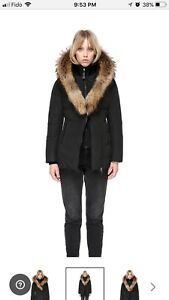 Mackage Adali F5 fitted down coat fur New with receipt