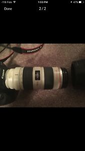 5D mark ii with 70-200mm f2.8 L IS USM lens
