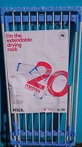 Hills Clothesline Drying Rack Extendable 20m Portable Croydon Burwood Area Preview
