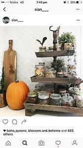 WANTED - 3 tier rustic wooden cake stand Leda Kwinana Area Preview