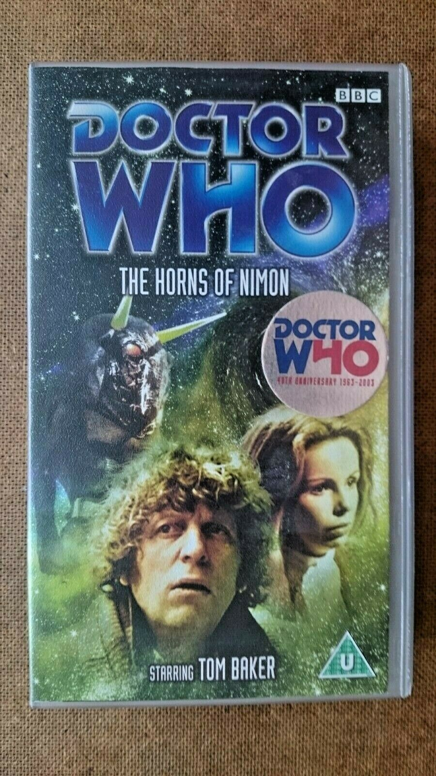 Doctor Who - Horns Of Nimon (VHS, 2003) - Tom Baker