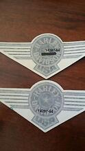 HARLEY DAVIDSON DECALS. VERY RARE. Moore Creek Tamworth Surrounds Preview