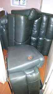 2 leather recliners + leather 2 seater lounge Dandenong North Greater Dandenong Preview