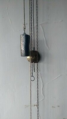 Authentic Lead Weights for Antique Lantern Clocks, Hoop and Spike or Wall Clocks