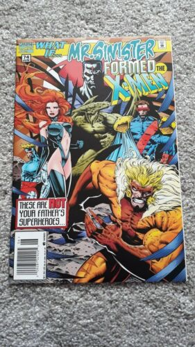 Marvel Comics - What If - No 74 - JUN 1995 - Mr Sinister Formed The X-Men