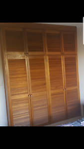Wooden Wardrobe doors - free Freshwater Manly Area Preview