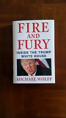 Fire And Fury  Inside The Trump White House Book Hardcover