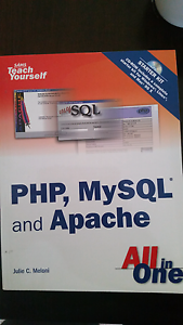 PHP and MySQL Books for Sale St Marys Mitcham Area Preview
