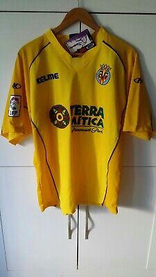 Camiseta Villarreal cf 03 / 04 Nueva Talla L ⭐⭐⭐ Rare new...