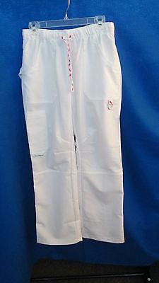 Mens Pants Uniform Flat Nurse Chef White Big Mac Work Wear 48 X 29  48 X 36 New