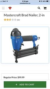 MasterCraft 2 in 1 nailer