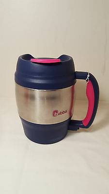 Bubba Keg 52 Oz Mug Pink Thermos Flask Coffee Soup Bottle Food Lunch Travel Car