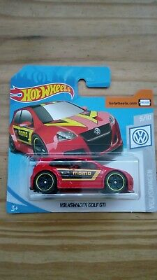 Hotwheels Volkswagen Golf GTI Momo Red 2019